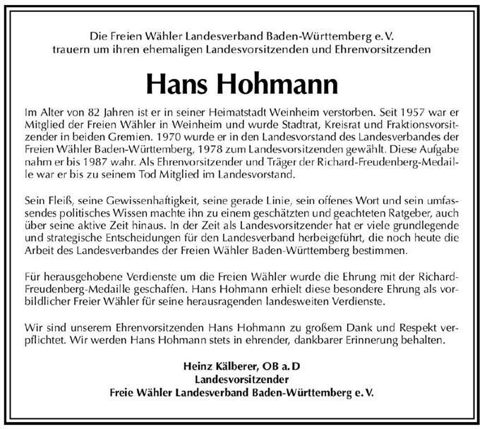 FWLV-Hohmann